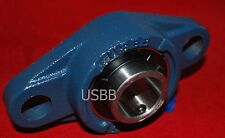 "5/8"" 2-Bolt Flange Bearing Unit UCFL202-10 5/8"" Cast Mounted Unit, USBB(1V86)"