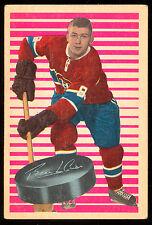 1963 64 PARKHURST #84 BILL HICKE EX+ COND MONTREAL CANADIENS HOCKEY CARD