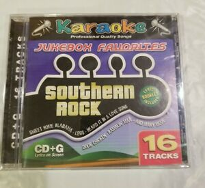 KARAOKE CD+G Jukebox Favorites Southern Rock
