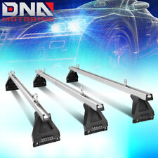 "58""ALUMINUM CARGO VAN TOP LUGGAGE ROOF CROSS BAR MOUNTS RAIN GUTTERS UNIVERSAL"