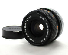 [Excellent++++] Canon FD 28mm F2.8 S.C. SC MF Wide Angle Lens from Japan