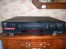 Jvc Hr-S7100U Very Very Rare S-Vhs HiFi Vcr with Remote