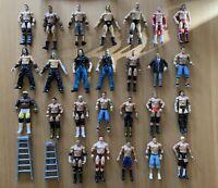WWE Large Bundle Wrestling Action Figures - Jakks Pacific - X26 Figures