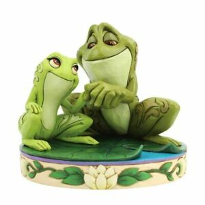 Disney Princess and the Frog Amorous Amphibians Tiana and Naveen Frogs Figurine