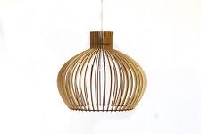 Cortina de lámpara de madera Lámpara de madera// Lámpara Colgante/Luz De Techo/Lámpara de techo