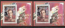 MALAGASY 1993, MUSIC, ENTERTAINERS: ELVIS PRESLEY, Mi Bl 1561a, 1561 IIa, MNH