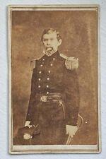 New listing Rare Civil War Cdv Carte De Visite Confederate General William J. Hardee Vg Nr