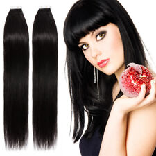 Undetectable Tape In THICK Glue Full Head 100% Remy Human Hair Extensions P770