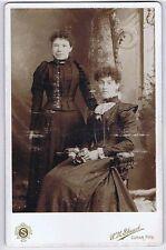 CABINET CARD Photograph Victorian Ladies by Stuart of Cupar Fife