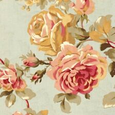 Mill Creek Floral Rose Bouquet SAGE Jacquard Home Decor Drapery Sewing Fabric