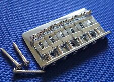 Fender Chris Shiflett Telecaster Tele BRIDGE Guitar Parts Chrome Parts