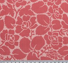 1/2 metre ROSES Pink Tone Marabella Floral Quilt Patchwork Fabric
