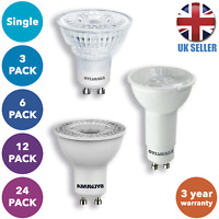 LED GU10 Lamp Lightbulbs Energy Saving 5W Spotlight Downlight A+ Light Bulb