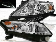 Fit For  10-12 Lexus RX350 Projector Chrome Housing Headlights w/ LED Strip
