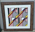 Roy Lichtenstein 1923-1997 Modern Print, 1971 Signed And Numbered EXCELLENT COA