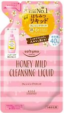 ☀NEW KOSE Softymo Cleansing Liquid Honey Mild Refill 200ml From Japan F/S