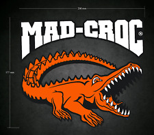 MAD-CROC Style Sticker 200mm x 177mm - Printed & Laminated - Karting - Go-Kart