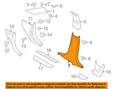 BMW OEM 11-17 X3 Interior-Lower Center Pillar Trim Left 51437324363