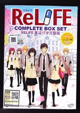 *NEW* ReLIFE  *13 EPISODES*ENGLISH SUBTITLES*ANIME DVD*US SELLER*
