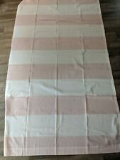 HILLCREST DRAPERY PANELS, NWOT, PINK AND WHITE STRIPED, 53X96 EACH