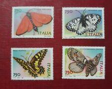 1996 FRANCOBOLLI ITALIA SERIE FARFALLE 4 VALORI NUOVI 750  LIRE