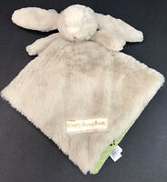Little Jellycat Sleepy Bunny Book Brown Soft Plush Baby Rabbit Lovey Book BP6