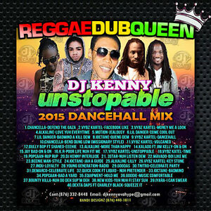 DJ Kenny - Unstopable Dancehall Mixtape. Reggae Mix CD.
