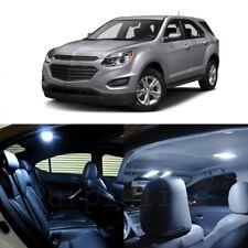 9 x White LED Interior Light Kit For 2010 - 2017 Chevy Chevrolet Equinox + TOOL