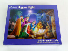 Vermont Christmas Company Joyous Night 100 Piece Jigsaw Puzzle New Sealed