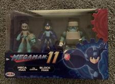 Megaman 11 Action Figure Set Mega Man vs Block Man Jakks Pacific
