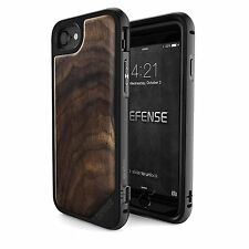 iPhone 7 Wooden Case, X - Doria Defense, Lux - Military Grade Drop Tested