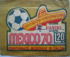 RARE Mexico 70 (1970) World Cup  PANINI Sticker PACKET BUSTINA L.20