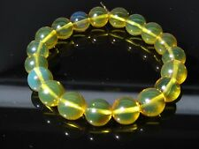 Top quality Dominican Amber Bracelet Beads Natural 10.64 mm Gem stone(12.0G)A855