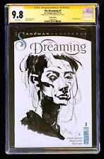 SS CGC 9.8 Kent WIlliams Sandman sketch The Dreaming # 1 Netflix Gaiman Vertigo