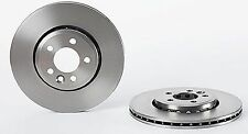 PAIR Front Brake Discs For MG MG 6 1.8 1.8 T 1.9 DTI 2010-ON Vented