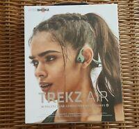 AfterShokz Trekz Air Wireless Bone Conduction Headphones  Forest Green AS650 New
