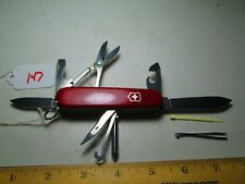 #147 Red Victorinox Swiss Army Super Tinker Knife