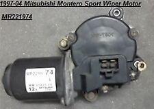 1997-04 Mitsubishi Montero Sport Windshield Wiper Motor Front MR221974 ,