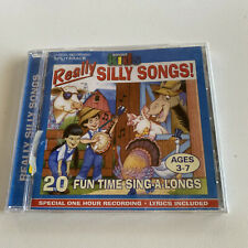 Really Silly Songs: Wonder Kids Sing Along Songs Brand New CD Sealed