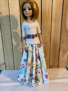 """Ellowyne Wilde 16"""" Doll Tonner Outfit Fashion Gown - In My Garden"""