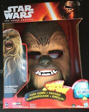 Star Wars Chewbacca mask The Force Awakens Makes Noise Rare Sold Out