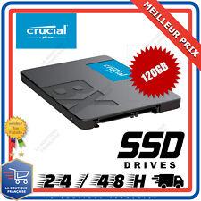 """Disque Dur SSD Interne 2,5"""" 120Go CRUCIAL Flash Drive SATA III"""
