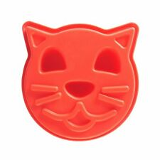 Celebration Birthday Cake Cat Flexible Jelly Mould Pan Silicone 17cm  x 18cm