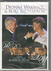 DIONNE WARWICK & BURT BACHARACH - LIVE FROM THE RAINBOW ROOM - DVD NUOVO RARO