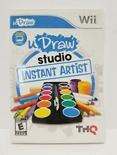 Udraw Studio Instant Artist: Nintendo Wii game - tested - with Warranty