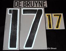 Belgium De Bruyne 17 Euro 2016 Football Shirt Name/number Set Away Sporting ID