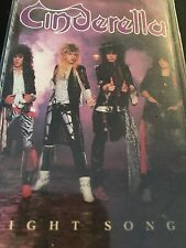 Night Songs by Cinderella (Cassette, 1986, Mercury)