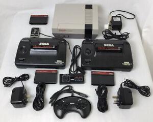 Games console bundle, job lot of Sega Master System II's, Nintendo console +more