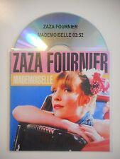 ZAZA FOURNIER : MADEMOISELLE [ CD SINGLE PORT GRATUIT ]