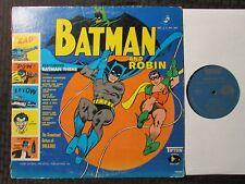 1966 Dan & Dale - Batman And Robin LP GD+/GD+ Mono Tifton – 78002